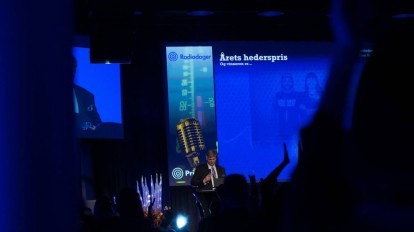 Fra fjorårets Prix Radio utdeling. (Foto: Lasse Mørkhagen / radiodager.no)