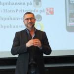 Hans Petter Nygaard Hansen på landsmøtet 2016
