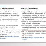Screenshot fra nrk.no den 16. januar 2016 (venstre) og 23. juni 2016