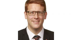 Martin Henriksen. Foto: Stortinget