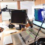 Nea Radio, studio. Foto: Kyrre Dahl