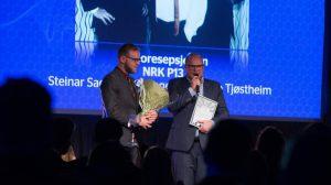 Fjorårets vinnere Radioresepsjone er ikke nominert i 2016. (Foto: Lasse Mørkhagen)