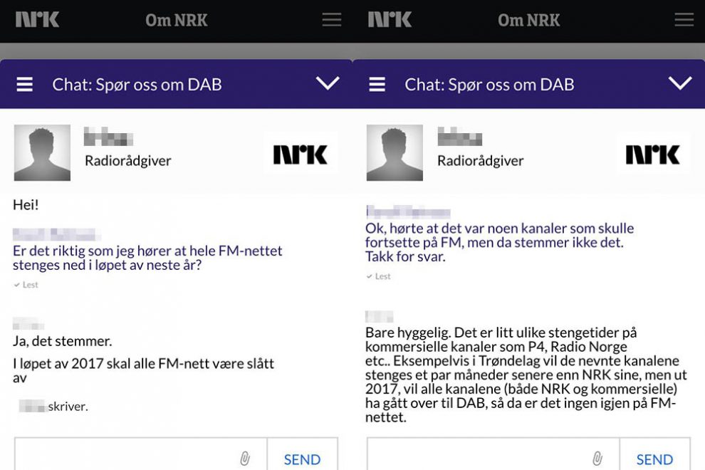 for you chat norsk
