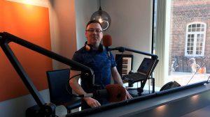 Programleder i Radio Trondheim, Martin Kaye (Foto: Pål Lomeland)