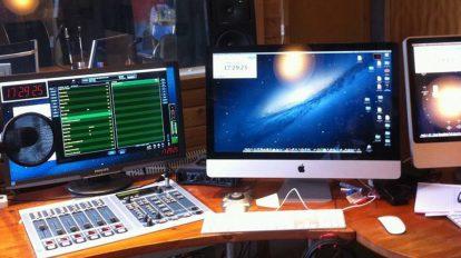 GLR, studio. foto: GLR