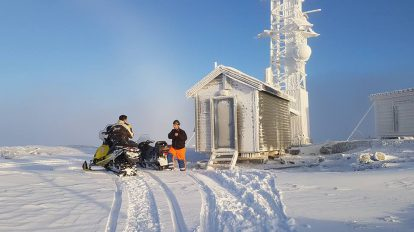 DAB utbygging for Nea Radio i Tydal. Foto: Eivind Engberg