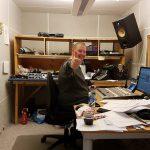 Fra studio til Radio Bø. Foto: Radio Bø